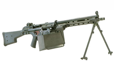 heckler and koch machine guns